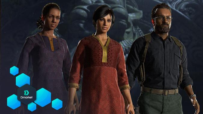 Uncharted: The Lost Legacy characters