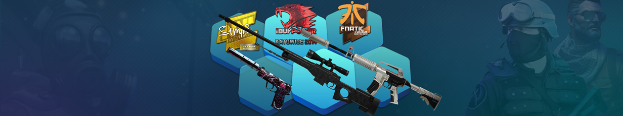 Best CS:GO Skins and Stickers Combinations 2018