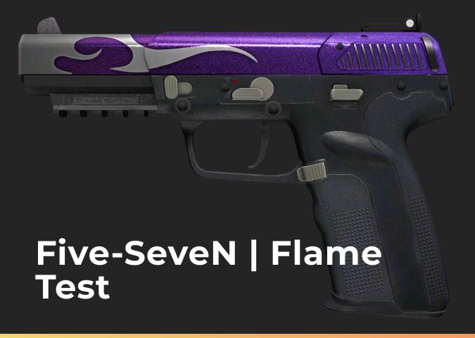 Five-SeveN Flame Test