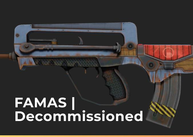 FAMAS Decommissioned
