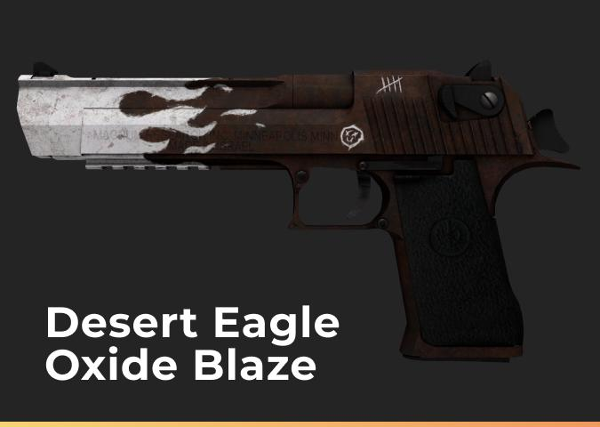 Desert Eagle Oxide Blaze (Field-Tested)