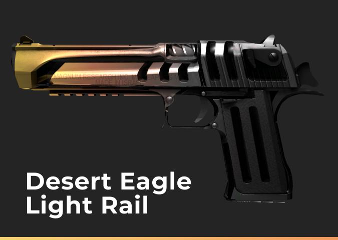 Desert Eagle Light Rail (Field-Tested)