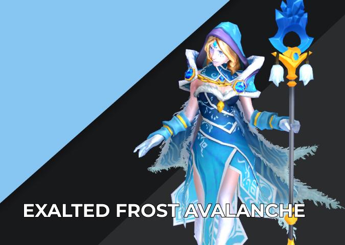 Exalted Frost Avalanche Dota 2