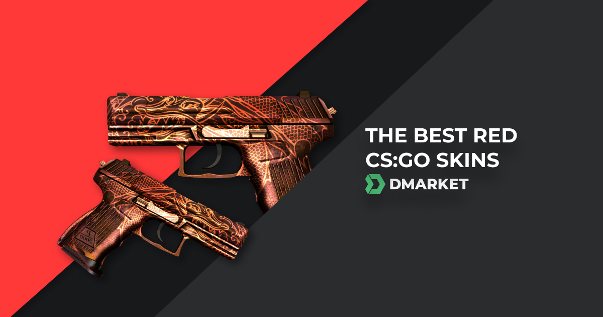 The Best 11 Red Skins in CS:GO