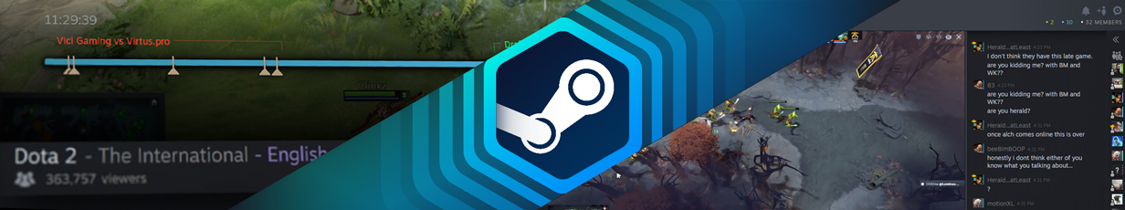 Steam.tv — New Broadcasting Service from Valve