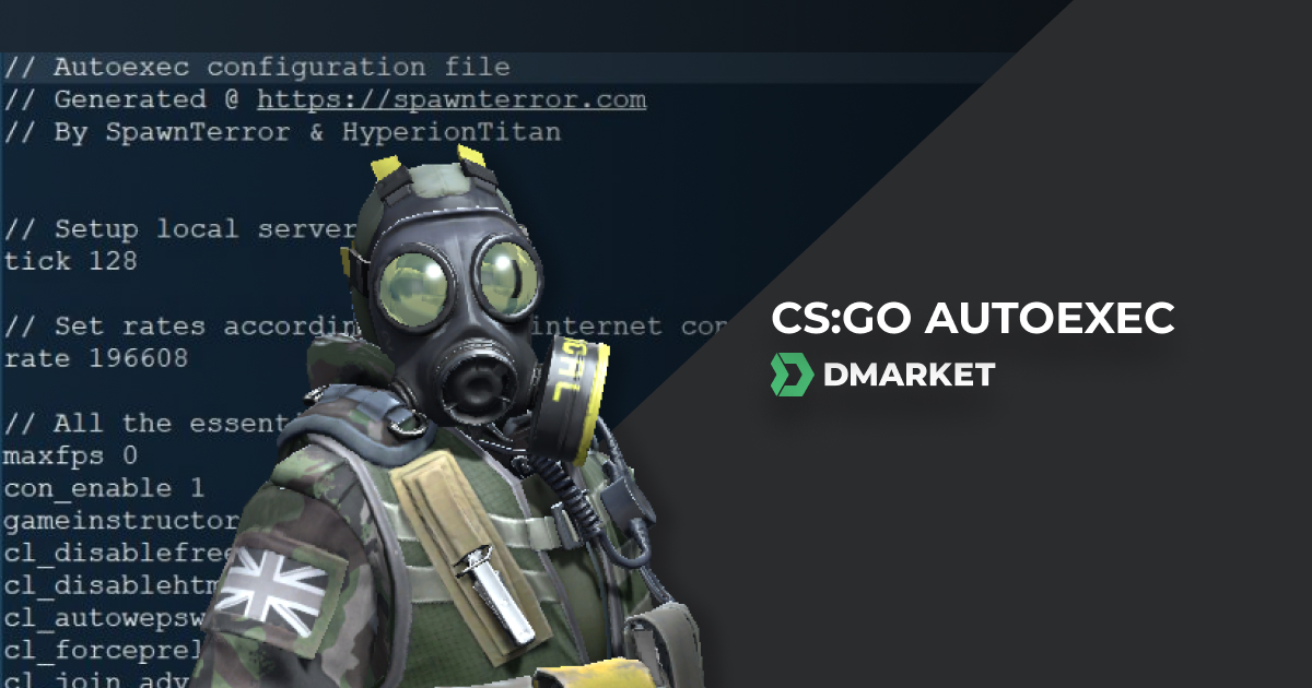 How to Create an Autoexec CFG (CS:GO Config File) | DMarket