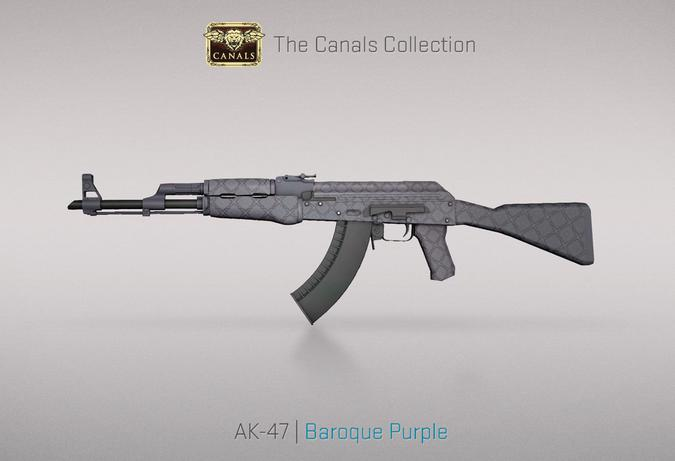 ak 47 baroque purple