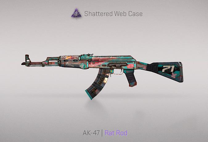 ak 47 rat road