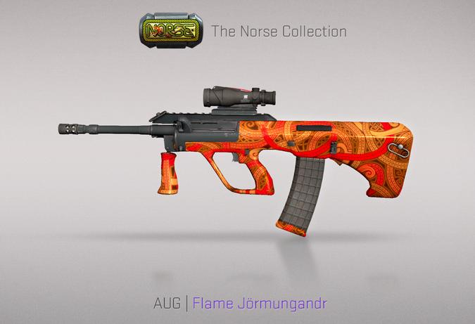 aug flame jormungandr
