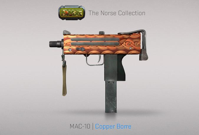 mac 10 copper borre