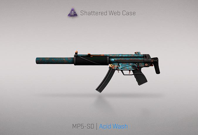 mp5 sd acid wash