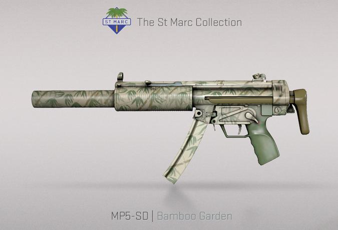 mp5 sd bamboo garden