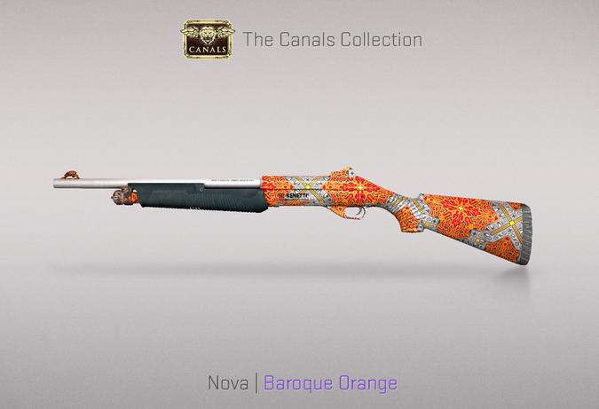 nova baroque orange