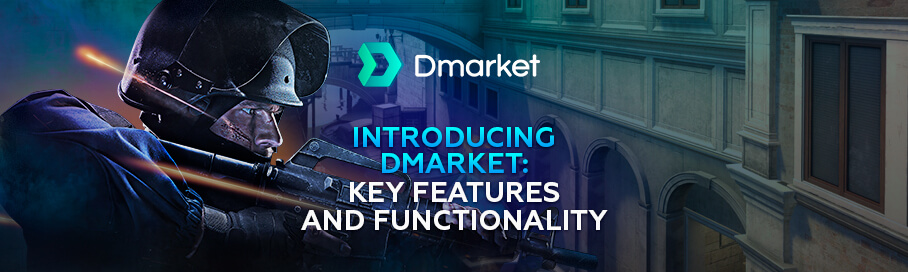 Key Features and Functionality of DMarket Marketplace