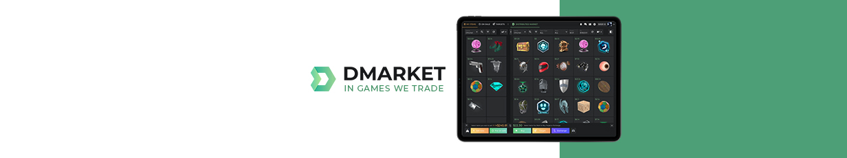 In-Game Trading Reimagined: Meet New DMarket at Gamescom 2019