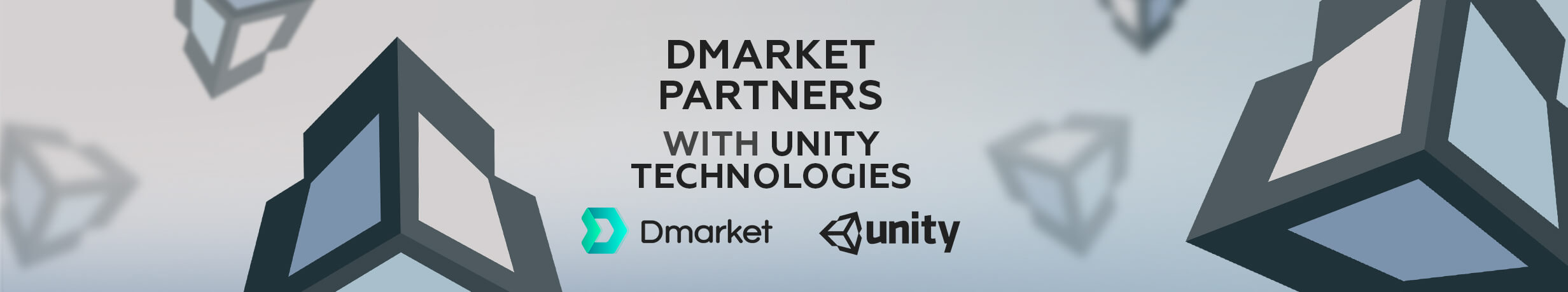 DMarket Partners with Unity Technologies