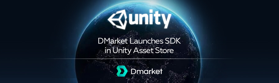 DMarket Launches Software Development Kit in the Unity Technologies Asset Store