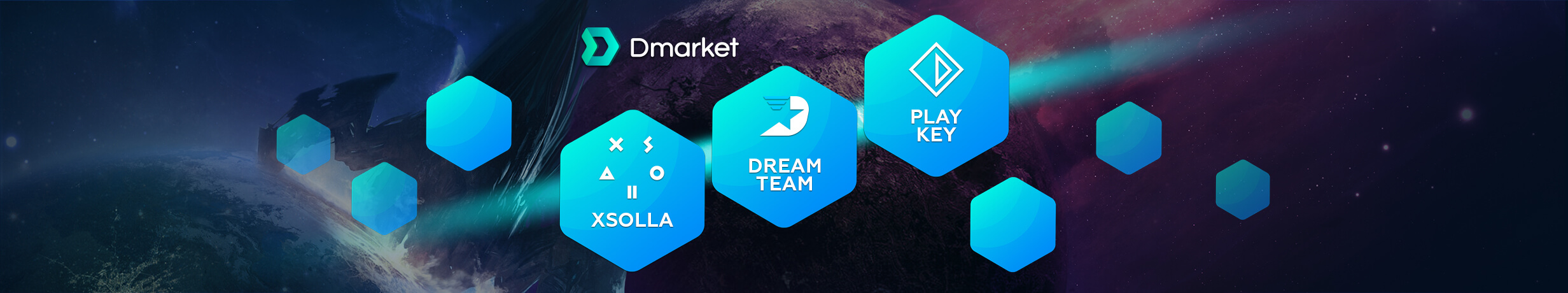 DMarket Signs Three Major Partners in One Week