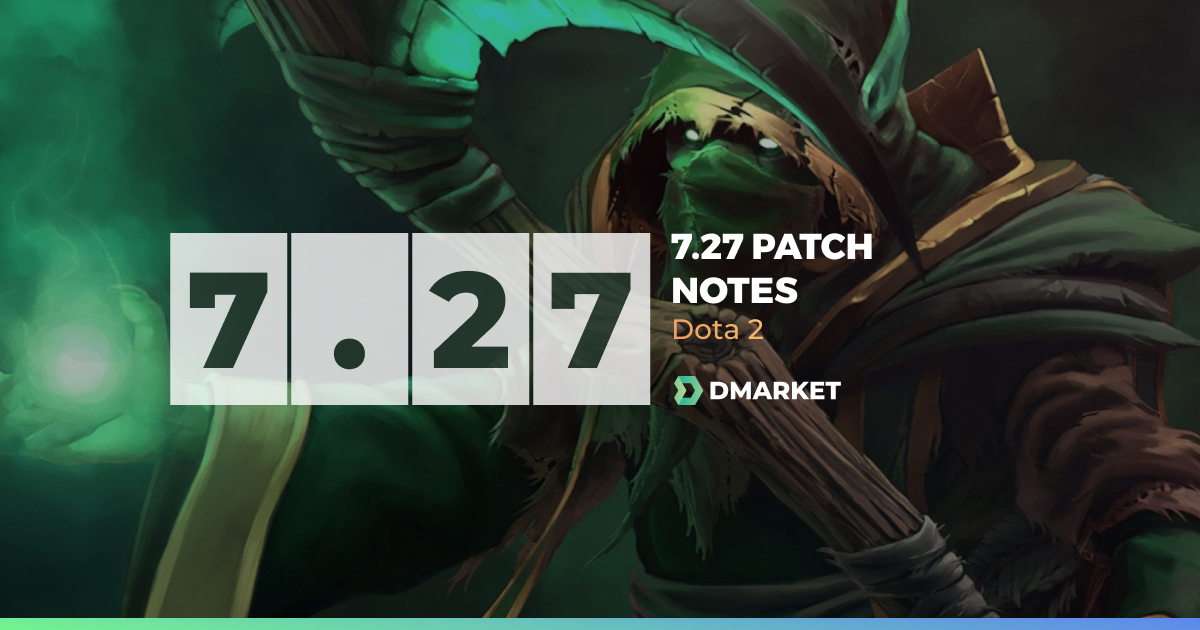 New 7.27 Patch in Dota 2