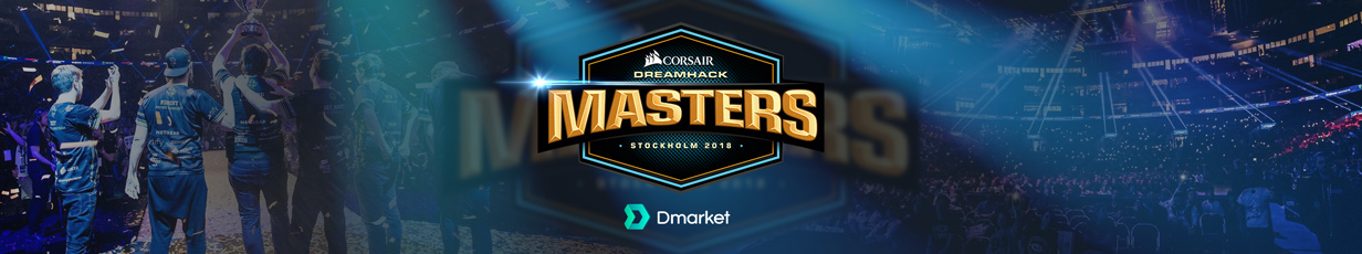 DreamHack Masters Stockholm 2018: Preview