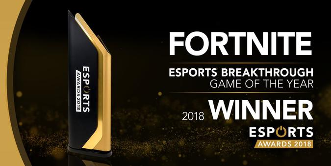 Esports Awards Best Breakthrough Game of 2018