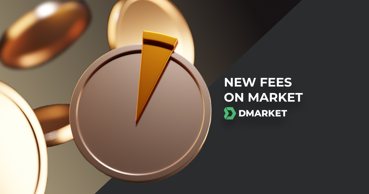 DMarket Is Updating Fees for Sellers