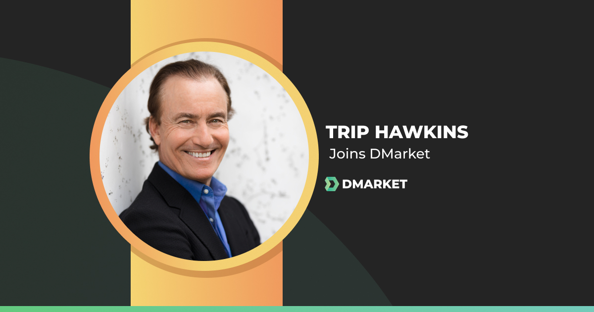 EA Founder and Game Industry Legend Trip Hawkins Joins DMarket